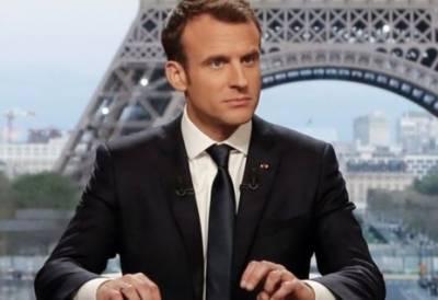 صدر ٹرمپ کو شام میں رکنے پر راضی کر لیا ہے: فرانسیسی صدر