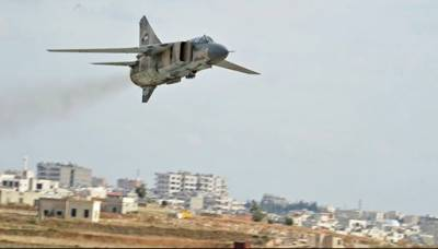 شامی فورسز کے حمص اور حما میں 24 گھنٹوں میں 65 فضائی حملے