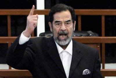 صدام حسین کا مقبرہ تباہ ، باقیات بھی قبر سے غائب