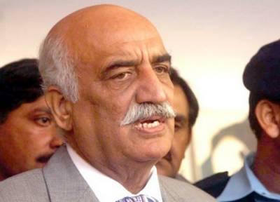 نوازشریف سمیت کسی بھی سیاسی جماعت سے مذاکرات کے دروازے بند نہیں کئے:خورشید شاہ