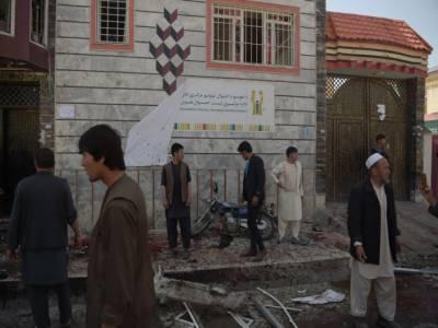 کابل میں خود کش حملہ، 57 افراد ہلاک, 119 زخمی, پاکستان کی دہشتگرد حملوں کی شدید مذمت، جانی نقصان پر اظہا ر افسوس