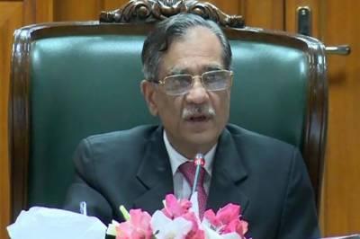 الیکشن کمیشن نے کس قانون کے تحت سرکاری اداروں میں بھرتیوں پر پابندی لگائی؟چیف جسٹس