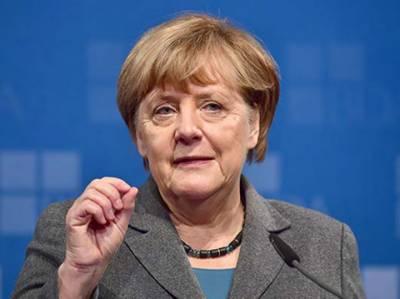 جرمن چانسلر نے حفاظت پسندانہ تجارتی پالیسیوں کی سیاست کو رد کردیا