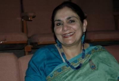 معروف اداکارہ مدیحہ گوہر62 برس کی عمر میں انتقال کر گئیں