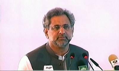 سیاست دان کی بھی جج اور جرنیل جتنی عزت ہونی چاہیے,ووٹ کو اور سیاست دان کو عزت دیں:وزیراعظم شاہد خاقان عباسی