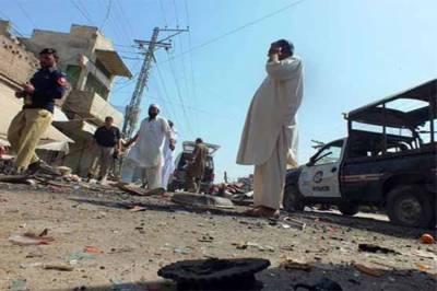 بنوں:جنرل بس سٹینڈ پر ریموٹ کنٹرول دھما کہ ,سیکیورٹی اہلکار شہید ,13افراد زخمی