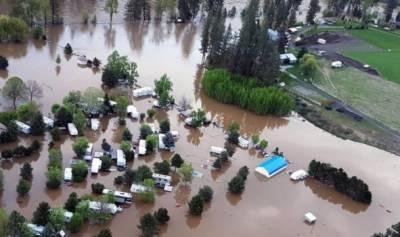 برٹش کولمبیا میں سیلاب,ہزاروں افراد کی منتقلی