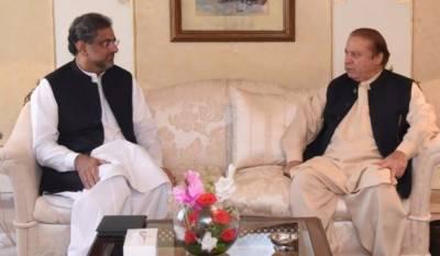 وزیراعظم کی نواز شریف سےملاقات،ممبئی حملوں سے متعلق متنازعہ بیان اور قومی سلامتی کمیٹی کے اجلاس پر بات چیت