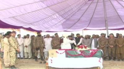 کرنل سہیل عابد عباسی شہید کی نمازہ جنازہ ادا کردی گئی