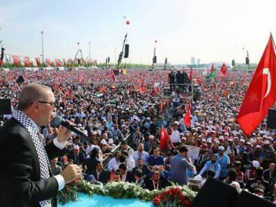 اسرائیل نے غزہ سرحد پر فلسطینیوں کی نسل کشی کی لیکن عالم اسلام تو کیا پوری دنیا اسرائیلی ظلم و ستم پر خاموش ہے: ترک صدر اردوان
