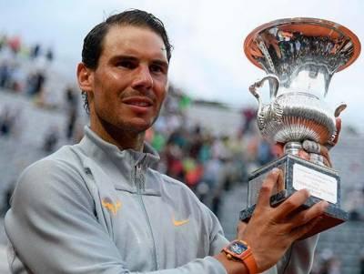 شہرہ آفاق ہسپانوی ٹینس اسٹار رافیل نڈال آٹھویں مرتبہ اٹالین اوپن جیت کر دوبارہ عالمی نمبر ایک بن گئے