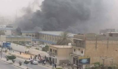لیبیا'ہوٹل کے سامنے کار بم دھماکہ، 7 افراد ہلاک، 20 زخمی ہو گئے
