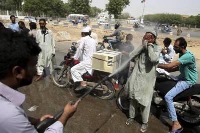 کراچی : 4روز کیلئے ہیٹ ویوز کا آغاز ، جمعرات کو پارہ 44ڈگری تک جانے کا امکان