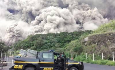 گوئٹے مالا:آتش فشاں پھٹنے سے ہلاکتوں کی تعداد 62ہوگئی