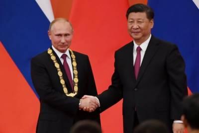 چین نے روسی صدر پیوٹن کو ملک کے اعلیٰ ترین اعزاز سے نواز دیا