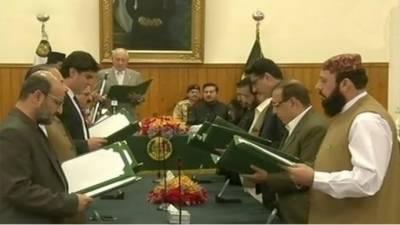 بلوچستان کی نگراں کابینہ نے حلف اٹھالیا