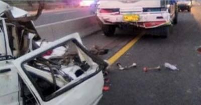 سرگودھا:ڈمپراور مسافر کوچ کے تصادم میں7افراد جاں بحق ,30سےزائدزخمی