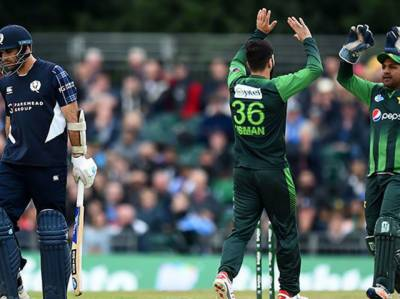 دوسرے ٹی ٹوئنٹی میں پاکستان نے اسکاٹ لینڈ کو 84 رنز سے شکست دیدی