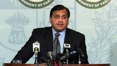 بھارت 7دہائیوں سے کشمیرسے متعلق دعوے کرتاآرہاہے جسے پاکستان مستردکرتاہے:ترجمان دفترخارجہ