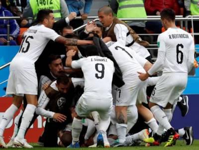 فیفا ورلڈ کپ میں یورا گوئے نے مصرکوصفرکے مقابلے میں ایک گول سے شکست دے دی