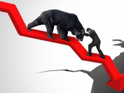 پاکستان اسٹاک مارکیٹ میں رواں کاروباری ہفتے کے دوران مندی کا رجحان غالب