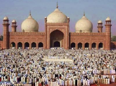 ملک کے تمام شہروں میں عید الفطر پورے مذہبی احترام اور جوش کیساتھ منائی جارہی ہے