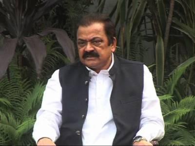 سا بق ڈکٹیٹرپرویز مشرف نے 2مرتبہ ملک کا قانون توڑا اسکا ریڈ کارپٹ استقبال کیا جا رہا ہے: رانا ثناءللہ