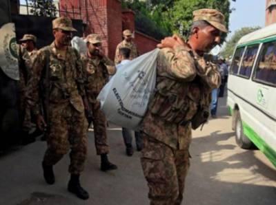 الیکشن کمیشن کاعام انتخابات فوج کی نگرانی میں کرانے کا فیصلہ
