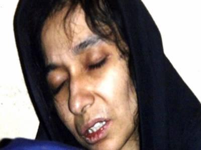 عافیہ صدیقی کی پاکستانی سفارتکار سے ملاقات ، جنسی و جسمانی تشدد کی تصدیق