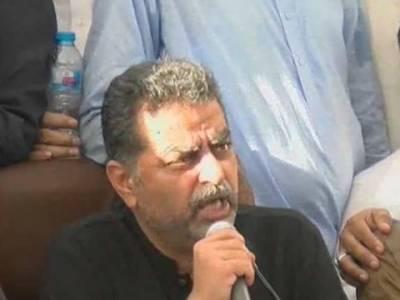 ن لیگ کے منحرف رہنماءزعیم قادری کا آزاد الیکشن لڑنے کا اعلان,حمزہ شہباز کے بوٹ پالش نہیں کرسکتا ،جان دے سکتا ہوں ،لیکن عزت نہیں دے سکتا : زعیم قادری