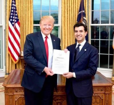پاکستانی سفیر علی جہانگیر صدیقی نے امریکی صدرکواپنی سفارتی اسناد پیش کردیں