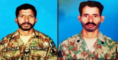 پاک فوج کا جنوبی وزیرستان ایجنسی میں کامیاب آپریشن، 6 دہشت گرد ہلاک،2 فوجی جوان شہید