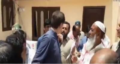 مراد علی شاہ کوحلقے کے عوام نے گھیر لیا،سابق وزیراعلی کو جان چھڑانا پڑگئی