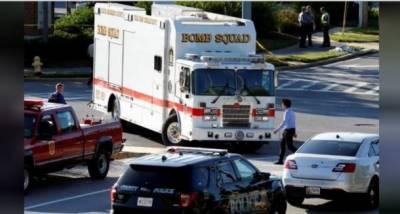 امریکی ریاست میری لینڈمیں مقامی اخبارکےنیوزروم میں فائرنگ,5افرادہلاک,20 سےزائدزخمی