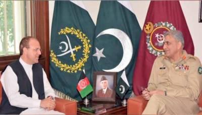 افغان سفیر کی دونوں ملکوں کے درمیان باہمی تعلقات کی بہتری پر جنرل قمر جاوید باجوہ کے کردار کی تعریف