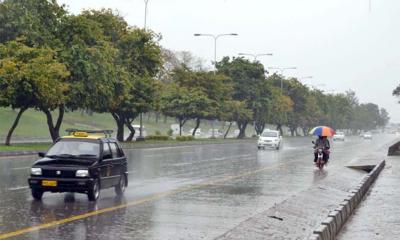 ملک کے متعدد شہروں میں مون سون کی بارشوں کا سلسلہ جاری