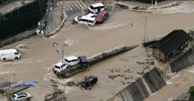 جاپان میں بارش کی تباہ کاریاں جاری،تودے گرنے سے ہلاکتوں کی تعداد51ہوگئی