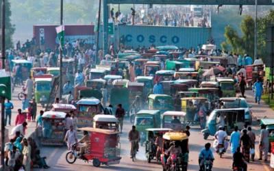 لاہور پولیس نے مختلف شاہراوں پر کنٹینرز کھڑے کر دیئے