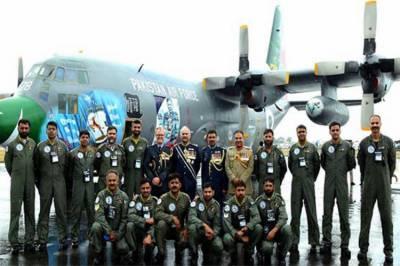پاک فضائیہ کے ہرکولیس سی ون تھرٹی نے پاکستان کا نام سر بلند کر دیا
