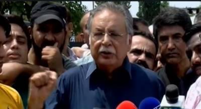 عمران خان اپنے فیصلے خود لکھتے ہیں،ووٹ کو عزت دینے کا مطالبہ کرنا کیوں جرم بنادیا گیا:پرویز رشید