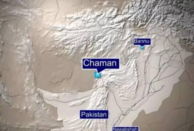 چمن کے مال روڈ پر دھماکا،4افراد زخمی،سیکیورٹی فورسز کی گاڑی کو نشانہ بنایا گیا:پولیس