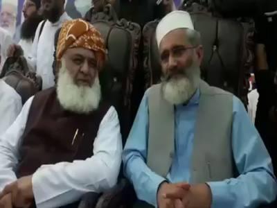 بٹ خیلہ : پشتون بیلٹ میں مذہب کی جڑیں اکھاڑنے کے لیے پی ٹی آئی کو مسلط کیا گیا: فضل الرحمن