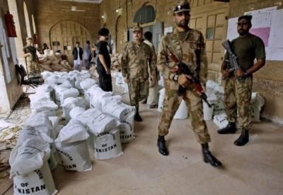الیکشن ڈیوٹی کیلئے فوجی جوانوں کی تعیناتی مکمل کر لی گئی