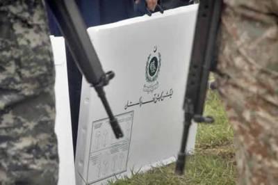 الیکشن 2018ء کیلئے تیاریاں مکمل، انتخابی میدان کل سجے گا، پولنگ صبح 8 سے شام 6 بجے تک بلا تعطل جاری رہےگی