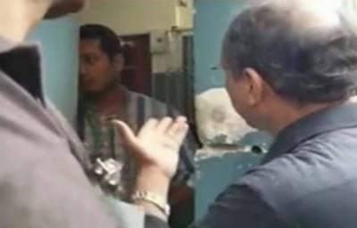 سعید غنی کو پولنگ اسٹیشن میں داخلے سے روک دیا گیا