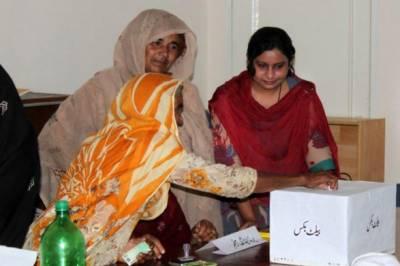 خواتین کو ووٹ کے حق سے محروم کرنا کسی صورت بھی برداشت نہیں کیا جائے گا:الیکشن کمیشن