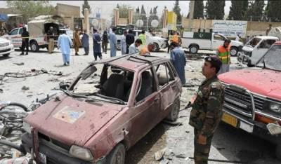 کوئٹہ :بائی پاس میں خودکش دھماکے میں شہادتوں کی تعداد 31ہوگئی