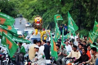 گوجرانوالہ میں پی ٹی آئی کو بڑا اپ سیٹ،مسلم لیگ ن کا کلین سویپ