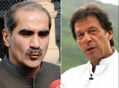 لاہور این اے 131:سعد رفیق نےعمران خان کی کامیابی کوچیلنج کردیا