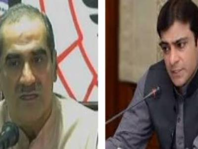 وزیراعلیٰ پنجاب کیلئے حمزہ شہباز مضبوط امیدوار,سعد رفیق اپوزیشن لیڈر ہونگے